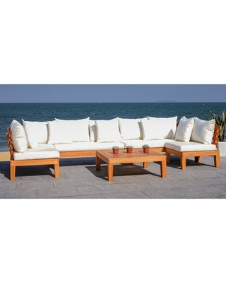 New Deal for Greta Living Patio Sectional with Cushions Rosecliff .