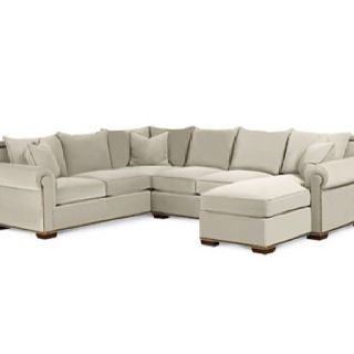 Thomasville Fremont Sectional Sofa. This is really big and has a .