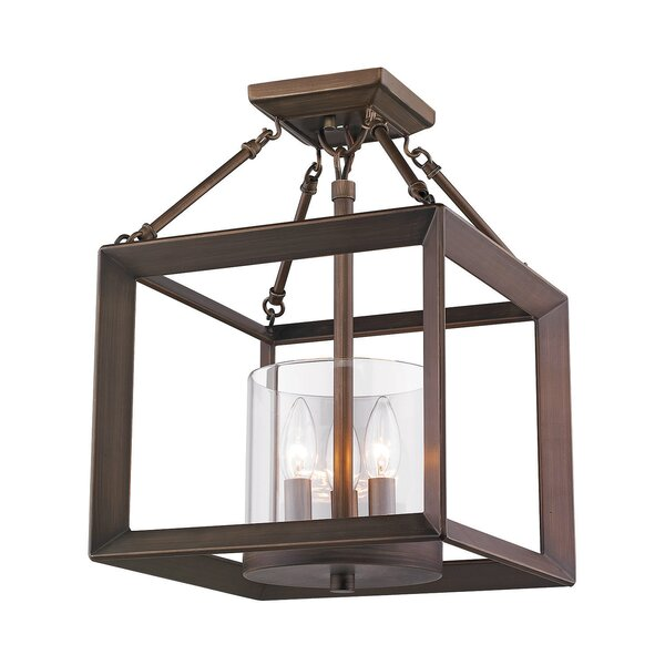 Three Posts Thorne 3 - Light Lantern Rectangle Pendant | Wayfa