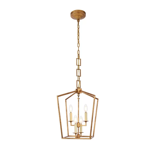 Tiana 4 - Light Lantern Geometric Pendant in 2020 | Geometric .