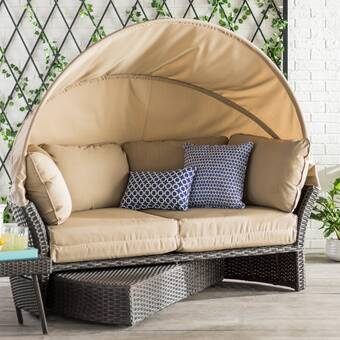 Tiana Patio Daybeds With Cushions