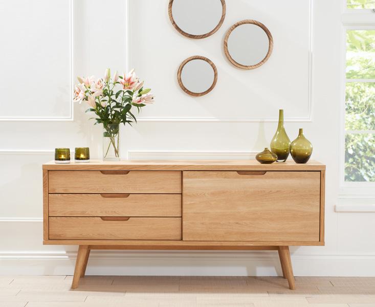 Tribeca Oak Sideboard - Dining Room Furniture, Living Room .