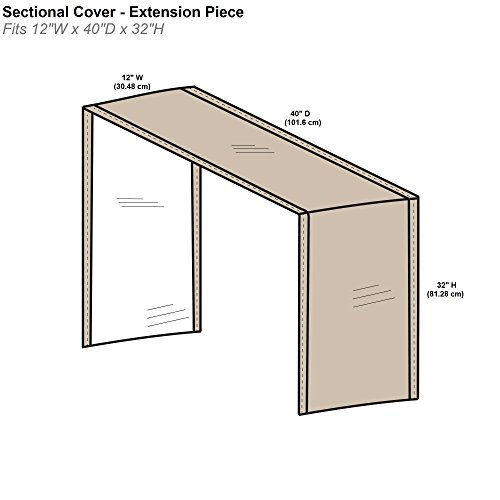 Protective Covers Inc. Modular Sectional- Buy Online in Trinidad .