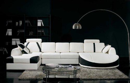 Vig Furniture T57B Ultra Modern Sectiona- Buy Online in Trinidad .