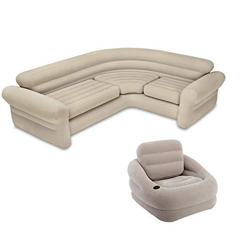 Intex Inflatable Corner Living Room Neut- Buy Online in Trinidad .