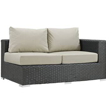 Tripp Right Arm Loveseat Sectional Piece with Cushions | Joss & Ma