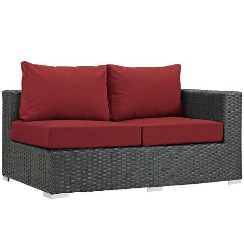 Brayden Studio® Tripp Right Arm Loveseat with Sunbrella Cushions .