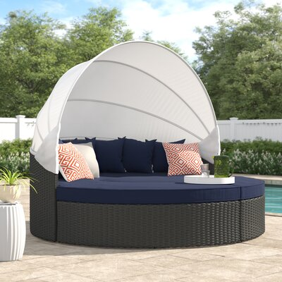 Brayden Studio® Tripp Patio Daybed with Sunbrella Cushions Brayden .