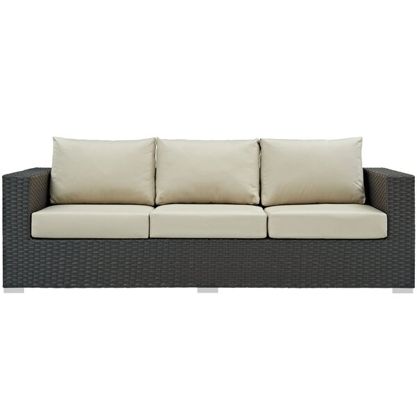 Tripp Patio Sofa with Sunbrella Cushions & Reviews | AllMode