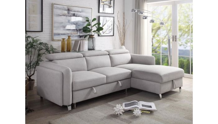 Tucson Sectional Sleeper With Stora