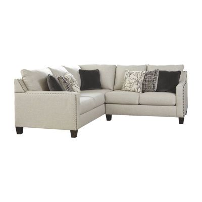 Signature Design By Ashley® Hallenberg 2-Pc Sectional | Sectional .