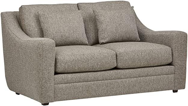 Amazon.com: Amazon Brand – Stone & Beam Calhoun Loveseat Sofa .