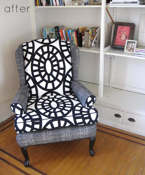 before & after: modern two-tone sofa + chair makeovers – Design*Spon