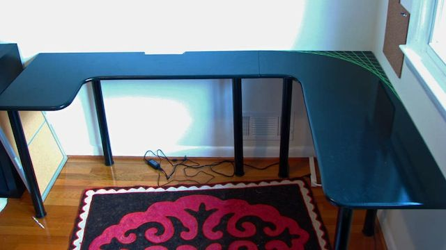 Build Your Own U-Shaped Computer Desk for Less than $100 | Diy .