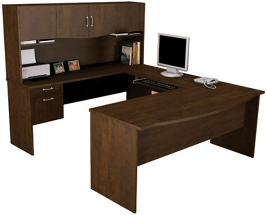 Bestar Executive Desk | U Shaped With Hut
