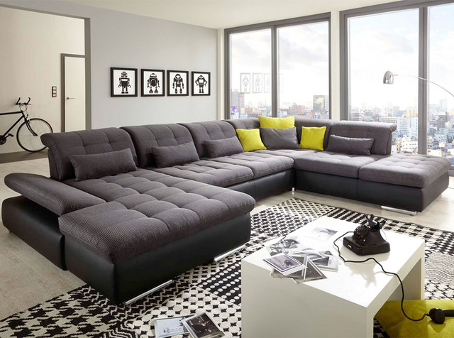 U-Shape Sectional Sleeper Sofa Alpine by Nordholtz | $5,695 .