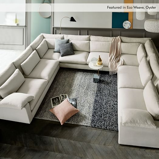 U Shaped Sectional Sofas