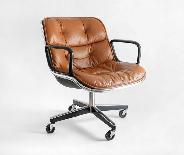 Vintage Knoll Pollock Executive Armchair | Modern office chair .