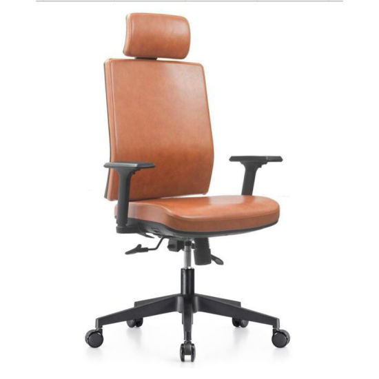China Unique Design Ergonomic Molded Foam Fabric Leather Office .