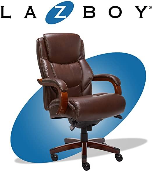 Amazon.com: La-Z-Boy Delano Big & Tall Executive Office Chair .