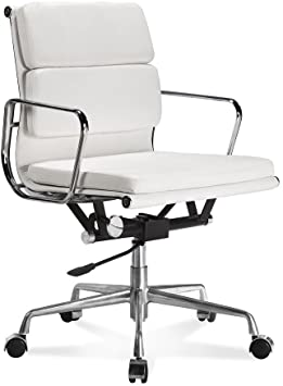 Amazon.com: Soft Pad Low Back Executive Office Chair Made with .