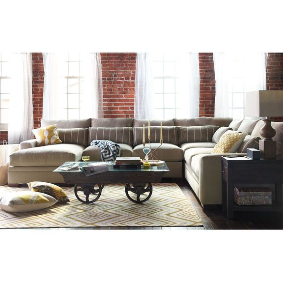 The Ventura Sectional Living Room Collection | Value City .