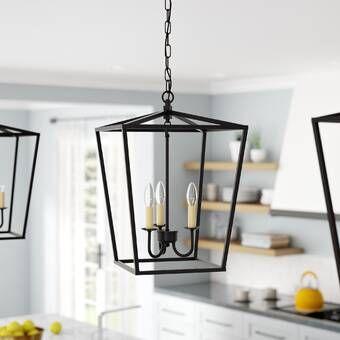 Varnum 4-Light Lantern Pendant & Reviews | Joss & Main (With .