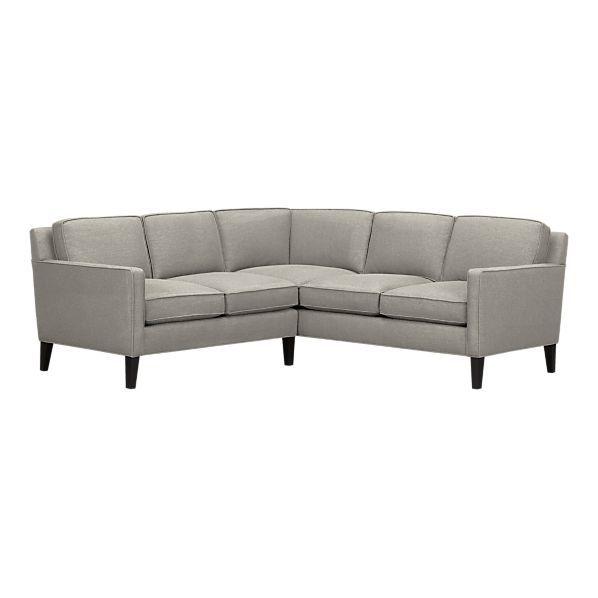 Vaughn Sectional sofa from Crate&Barrel | Sectional sofa .