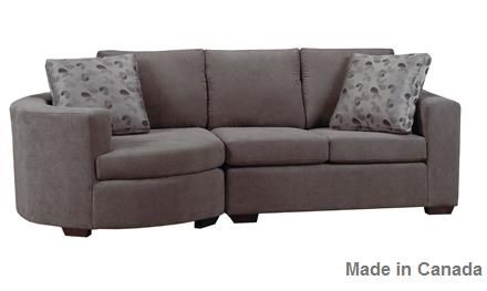 condo sectional | Furniture, Fabric sectional couch, Contemporary .