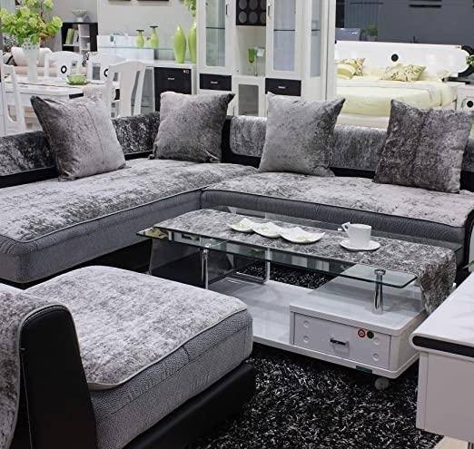Velvet Sectional Sofas