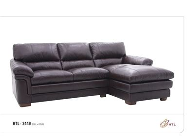 HTL Living Room Sectional 2449-SECT at Al's Furniture at Al's .