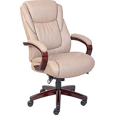 La-Z-Boy Miramar ComfortCore Traditions Executive Office Chair .