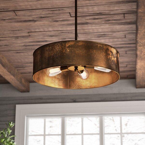 Trent Austin Design® Vincent 4 - Light Unique Drum Chandelier .