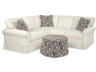 Coastal Classics Sectional 725 | Furniture slipcovers, Furniture .
