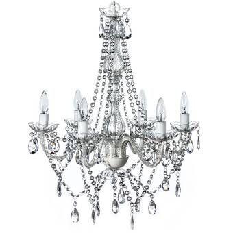Von 4-Light Crystal Drum Pendant | Traditional chandelier .