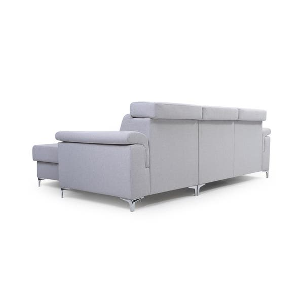 Shop Vermont Futon Sectional Sofa Bed, Sleeper with Storage and .