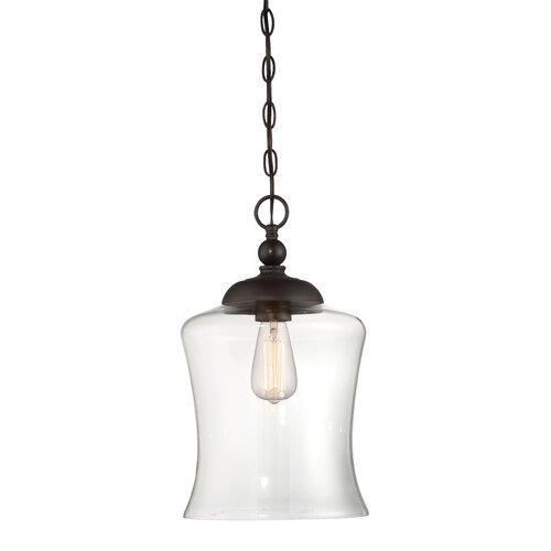 Savoy House Wentzville 1 - Light Single Bell Pendant & Reviews .