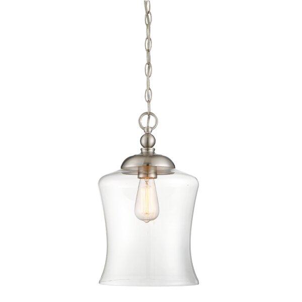 Wentzville 1-Light Single Bell Pendant & Reviews | Birch La