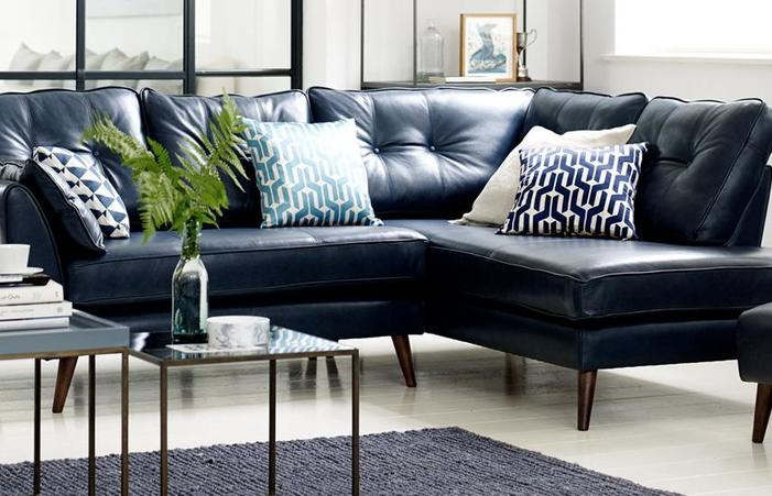 Corner Sofas In Leather Or Fabric Styles Sofa Bed Jenson Living .