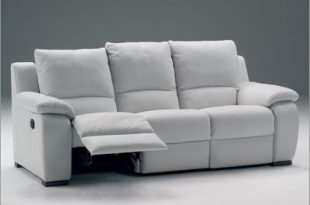 white leather recliner sofa | Choosing Colors Leather Reclining .