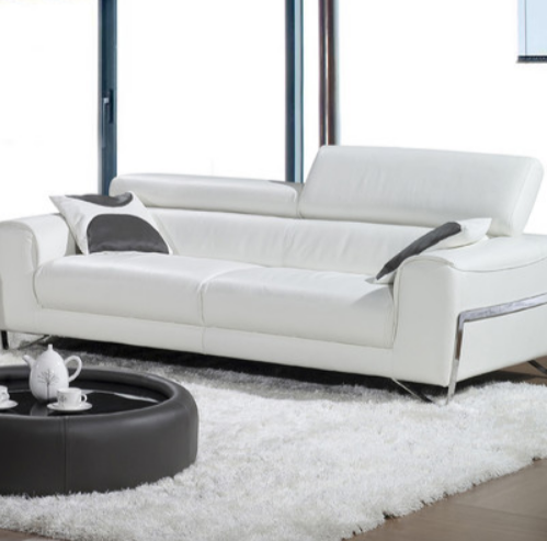 6 White Leather Sofas For Every Modern Living Room – Cute Furnitu