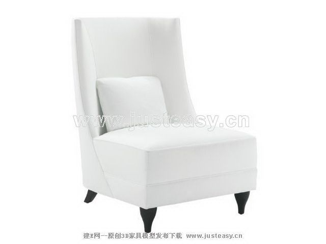 Soft white sofa 3D Model Download,Free 3D Models Download | Chair .