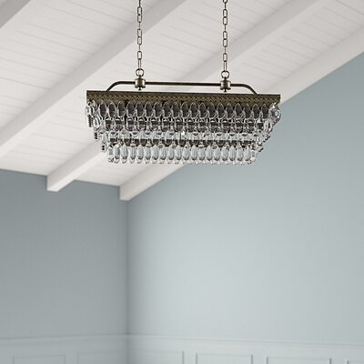 Whitten 4-Light Crystal Chandelier | Joss & Ma