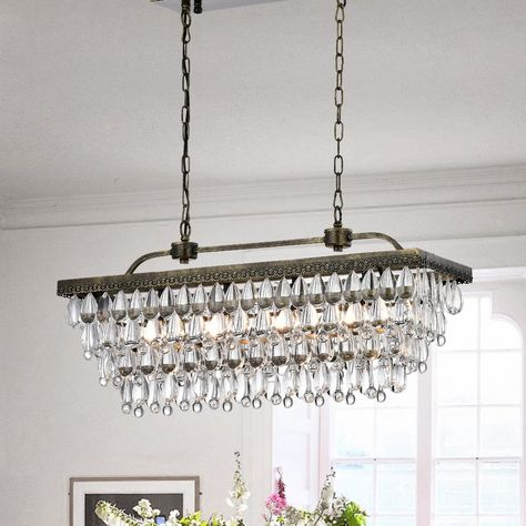 Whitten 4 Light Crystal Chandeliers