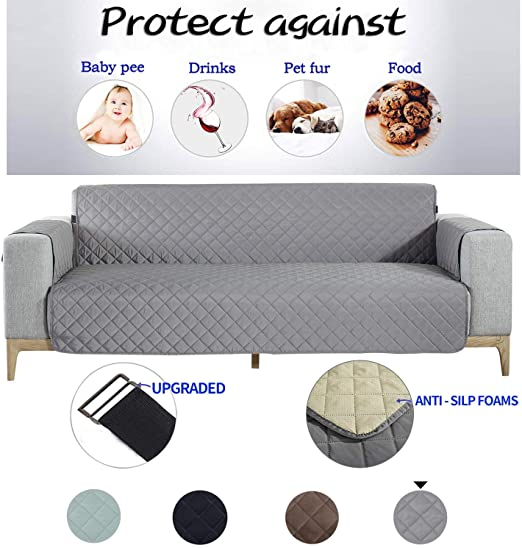 Amazon.com: NEKOCAT Sofa Cover, Extra-Wide Couch Cover for Dogs .