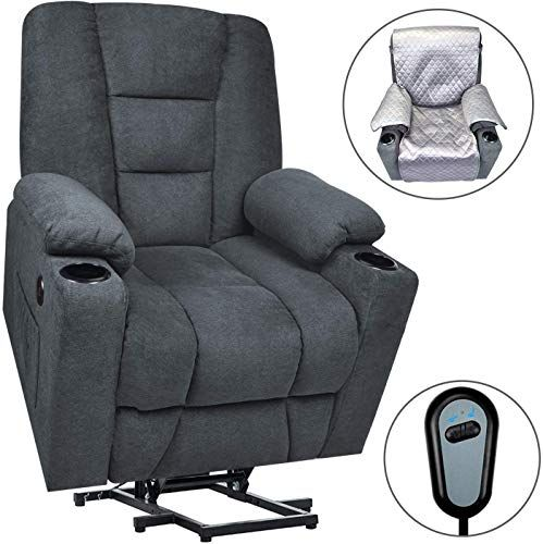 New Maxxprime Upgraded Electric Power Lift Recliner Chair Sofa .