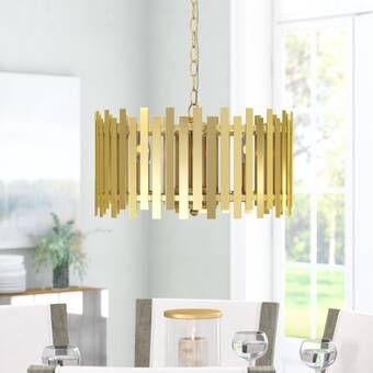 Wightman Drum Chandelier & Reviews | Joss & Main | Drum chandelier .