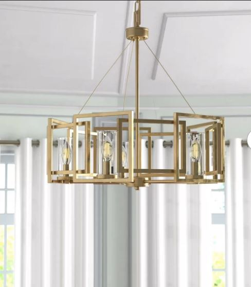 Mercury Row Wightman Unique / Statement Drum Chandelier – Fair&Brig