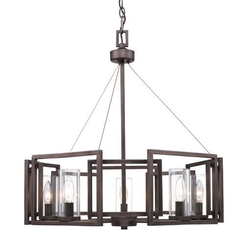 Mercury Row Wightman Shaded Drum Chandelier & Reviews | Wayfa