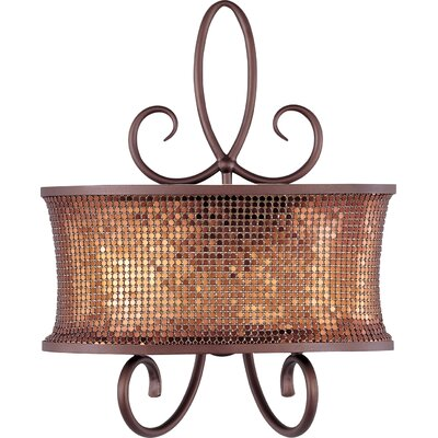 Fleur De Lis Living Willems 1-Light Flush Mount | Wayfa